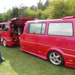 T4 mit Anhänger VW-Bustreffen-Wietzendorf