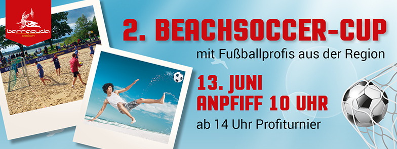 Titelbild Barracuda Beachsoccer Cup