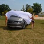 Enthüllung von dem VW T6 am Barracuda Beach