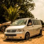 Fotoshooting beim VW Bus Treffen am Barracuda Beach