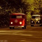 Bus Corso auf dem Weg zum Ludwigsluster Schloss