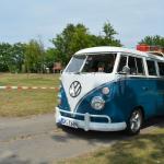Schönster VW T1 beim VW Bus Treffen am Barracuda Beach