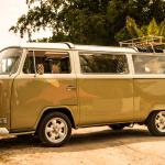 Schönster VW T2 beim VW Bus Treffen am Barracuda Beach