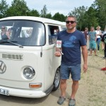 Bester VW-T2 am Barracuda Beach 2016
