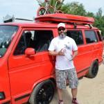 Bester VW-T3 am Barracuda Beach 2016