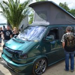Bester VW-T4 am Barracuda Beach