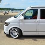 VW T6 Whitestar am Barracuda Beach 2016
