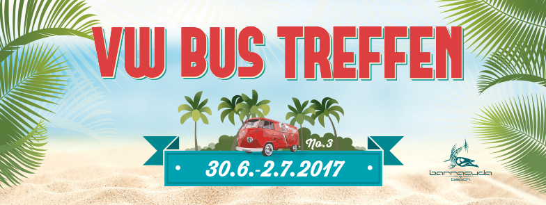 VW Bus Treffen 2017 Barracuda Beach