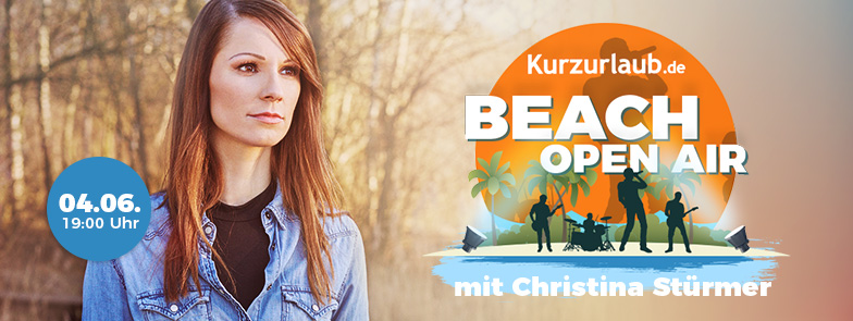 Beach Open Air mit Christina Stürmer