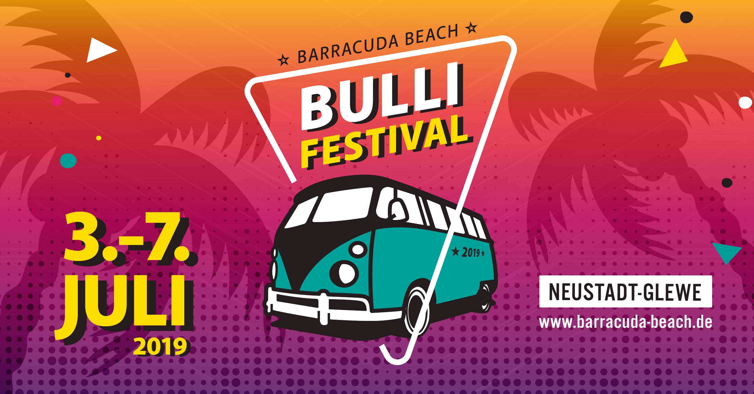 VW Bus Festival 2019 am Barracuda Beach in Neustadt-Glewe