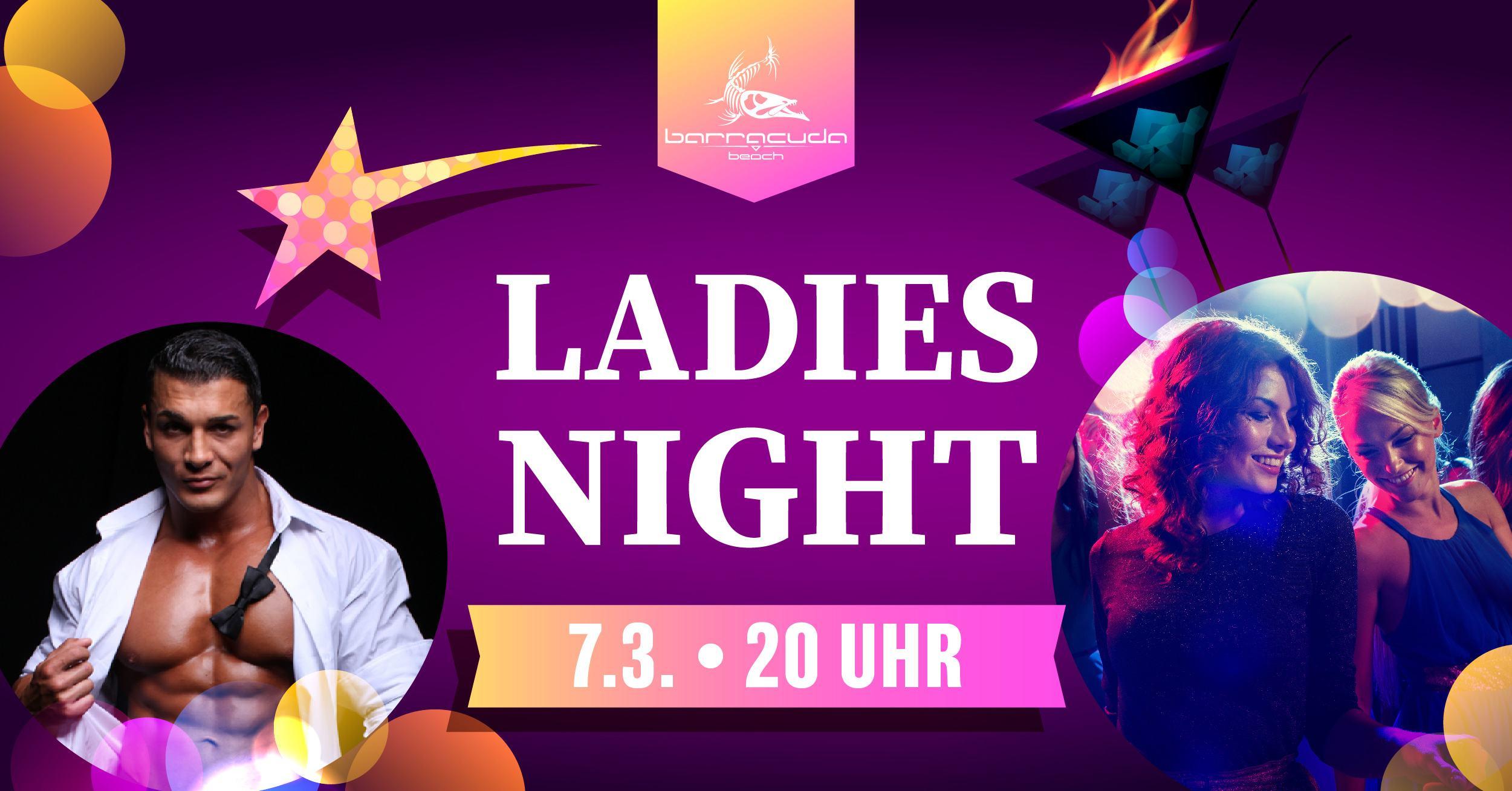 """Frauentag Party """"Ladies Night"""" am Barracuda Beach in Neustadt-Glewe"""